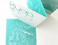 Birth card for Kyan
