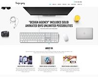 Free Design Agency WordPress Themes