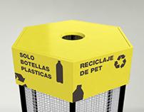 PETHEX - Recycling bin