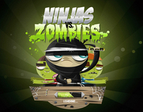 NINJAS VS ZOMBIES GAME