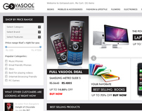Govasool.com Redesign
