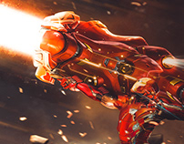 Ironman Proton Cannon