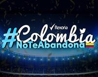 Rexona #ColombiaNoTeAbandona
