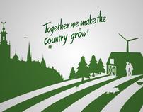 Federation of swedish farmers - motion graphic