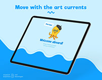 Vincent - Ipad App, Move With The Art Currents