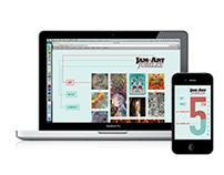 The Russell Jam+Art Jubilee App