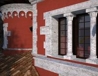 Villino Rosso, Villa Torlonia / CG WORK