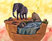 Island Worlds. The Elephant