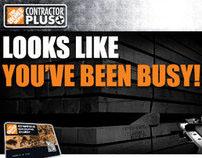 The Home Depot Contractor Plus Branding