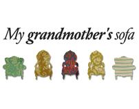 """My grandmothers'sofa"""