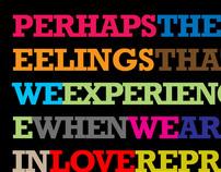 Typographic Sayings