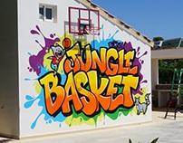 Jungle basket + buho