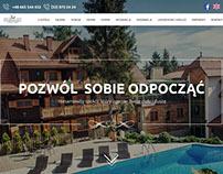 Hotel Modrzewiówka Website