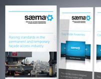 SAEMA identity redesign