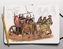 Chariot - Realistic illustrations