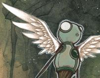 Flight Of The Seedlings art print series