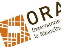 Logo e immagine coordinata di ORA