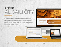 Pitch Deck | Al Gaili City