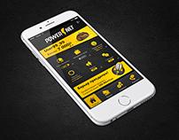 Mobile App Design UI My Powernet