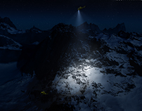 Night rescue - Full CGI