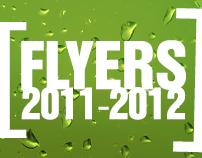 Flyer Designs 2011-2012