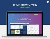 Cloud Control Panel Dashboard