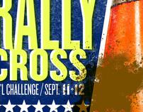 TRSCCA Rallycross, event poster