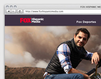 Fox Hispanic Media Website '12