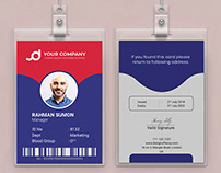Employee IDCard or Student ID Card