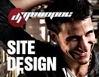 DJ Monopoli Site Design