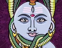 Shiva | Based on Kidrobot´s Munny-Template
