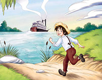 """The Adventures of Huckleberry Finn"""
