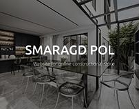 Smaragd Pol - website for online constructional store