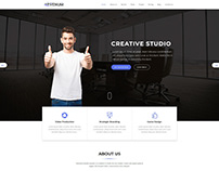 Landing Page , One page Template