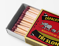 Zápalky/Safety Matches 2017