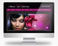 Makeup Artist Aimee McMurray website