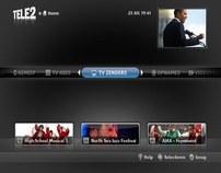Tele2 iTV UI