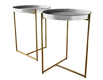3d model: Oliver Tray Table by Evie Group