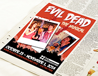 Evil Dead The Musical Marketing