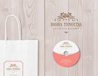 Logo design for photographer Dasha Tenditna
