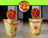 LIVE PROJ - Food design & packaging for Total company.