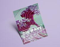 BIG WAVE - POSTER