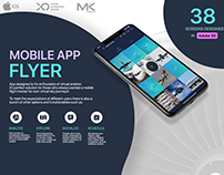 Flyer App UI Design Adobe XD