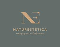 Branding for aesthetic medicine cabinet.