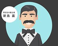 同志社大学_イラスト/モーショングラフィックス