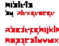 Niblets font