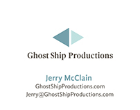 Ghost Ship Productions Logo & Business Card Design