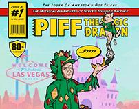 Piff the Magic Dragon Comic Cover