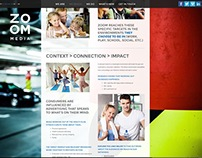 Zoom Media Website Design