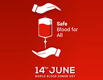 Blood Donor Day - Roll Up Banner